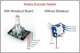 arduino rotary encoder wiring arduino rotary encoder wiring pinout comparison