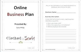 A Simple Business Plan Template Basic Business Proposal Template Simple Business Proposal