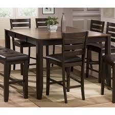 dining room sets for sale by owner. brown counter height dining table - elliott collection room sets for sale by owner