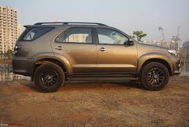 Review: 2015 Toyota Fortuner 4x4 Automatic - Team-BHP