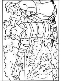 Kleurplaat Mozes Bijbelse Figuren Kleurplatennl