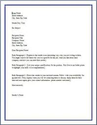 How To Format A Cover Letter For Your Resume Viactu Com