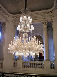 image of amazing baccarat crystal chandelier