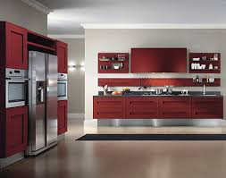 Red Kitchen Design Modern Red Kitchen Design Interior Design Architecture And