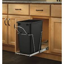Decorative Kitchen Trash Cans Shop Pull Out Trash Cans At Lowescom
