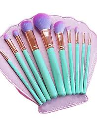 10contour brush makeup brushes set blush brush eyeshadow brush lip brush brow brush eyelash brush concealer