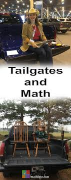 ways sitting on a tailgate is like helping math homework  i sat on a lot of tailgates at the houston auto show it made me