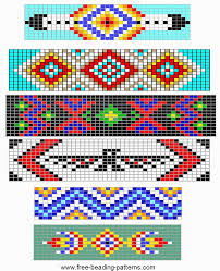 Free Beading Patterns Best Free Loom Beading Pattern Simple Barrettes Design Inspiration