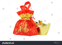 Small Picture Chinese New Year Gift Bag Gold Stock Photo 92611423 Shutterstock