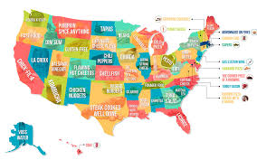 this map shows the food your state hates the most  reader's digest