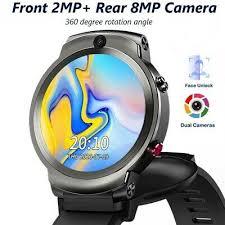<b>LEMFO LEM13 4G</b> Smart Watch Dual Cameras 1.6inch Flip Screen ...