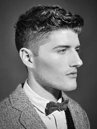 business mens short curly haircuts