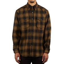 Pendleton Shirt Size Chart Pendleton Guide Shirt Olive Black Check