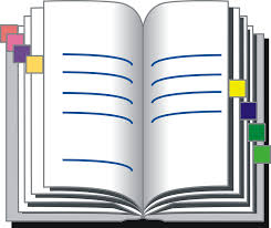 address book diary pages addresses open