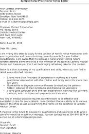 Sample Cover Letter For Resume Nurse Practitioner Dailyvitamint Com