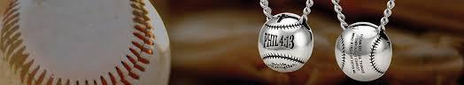 baseball softball jewelry