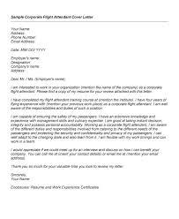Flight Attendant Cover Letter Sample No Experience Brilliant Ideas