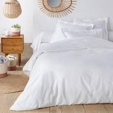 organic 100 cotton duvet cover la redoute interieurs image 0