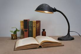 industrial contemporary lighting. image of industrial desk lamp with magnifying glass contemporary lighting