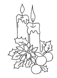 Small Picture Coloring Pages Coloring Page The Candles On The Christmas Tree