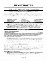 Free Sample Commercial Operations Manager Sample Resume Resume