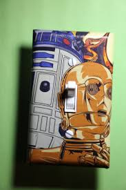 Country Star Light Switch Covers Star Wars C3po R2d2 Light Switch Plate Cover Bedroom Room