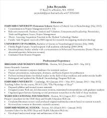 Ideas Of Resume Templates Business Fabulous Cover Letter Harvard