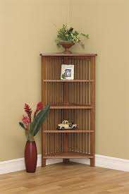 wooden corner shelves furniture. wonderful corner amish arts and crafts open corner bookcase on wooden shelves furniture k
