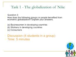 lesson economic globalization a