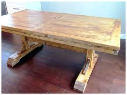 rustic dining table diy. diy rustic dining room table plans wood barn wooden home solid trestle