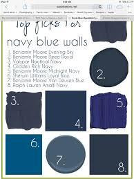 Great Blue Paint Colors. Like #7 Benjamin Moore Van Deusen Blue. Looks More Like  #6 On Walls.