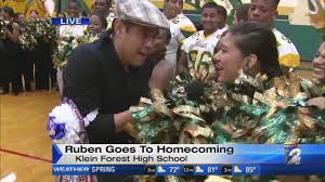 Ruben Goes To Homecoming At Klein Forest High School