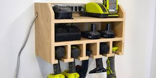 Hanging Charging Station How To Build A Storage Dock For Your Cordless Drill