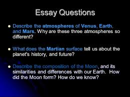 chapter earth and the terrestrial worlds ppt video online  4 essay questions