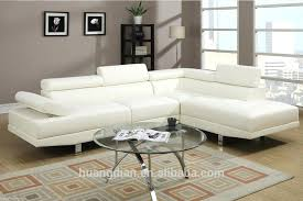 modern design white leather sofa set hotel lobby room furniture sectionals contemporary