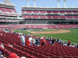 Great American Ball Park Section 136 Cincinnati Reds