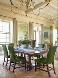 image ginger barber via cote de texas green chairselegant dining room