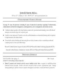 Network Engineer Resume Objective Essentialmom Co