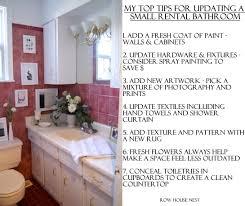 tips for updating a al bathroom