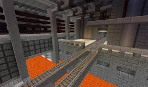 Underground Building Building Against Minecrafts Naturally Medieval Theme Is Highly