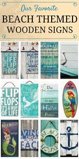 check out our favorite beach themed wooden signs at beachfront d cor these beach tropical nautical and coastal themed wooden plaques make great wall  on wooden beach themed wall art with best wooden beach signs beachfront decor pinterest wooden