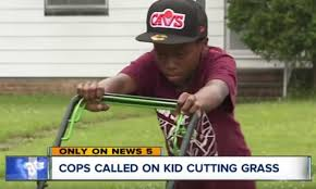 12-Year-Old Child Gets Cops Called On Him After Accidentally Cutting  Neighbors' Lawn