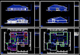 autocad home design free
