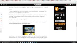 here is a bitconnect ad i just saw on the washington post wow theyre going mainstream bitconnect is about to go crazy with all these ads