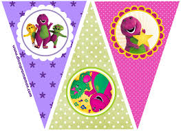 barney party invitation template barney party free printable mini kit is it for parties is it