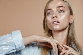 stylist magazine plexion beauty editorial with gucci westman makeup artist marcelina sowa model