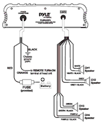 wiring diagram for boat stereo the wiring diagram pyle plmr440pa marine and waterproof vehicle amplifiers on wiring diagram