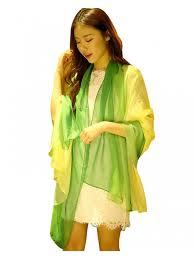 women long shawl wrap silk scarf