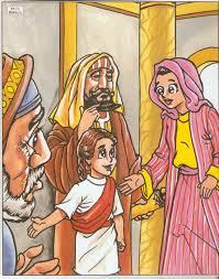 Resultado de imagem para DESENHO jESUS VISITA O tEMPLO
