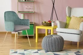 Stuhl Polsterstuhl Grün Modern Metallbeine Wohnzimmer